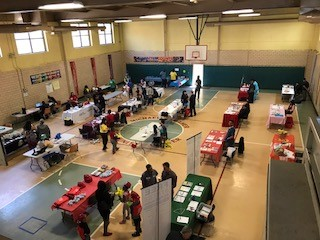 Vendors at the Community Health Fair!