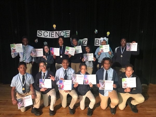 Eighth Graders: Science & Technology Week