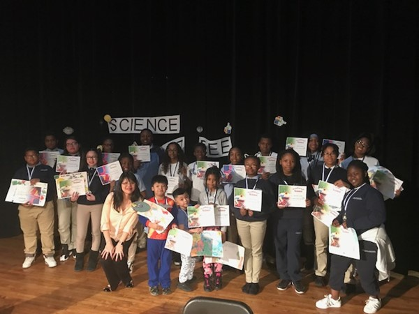 Students get awards at Science Bee