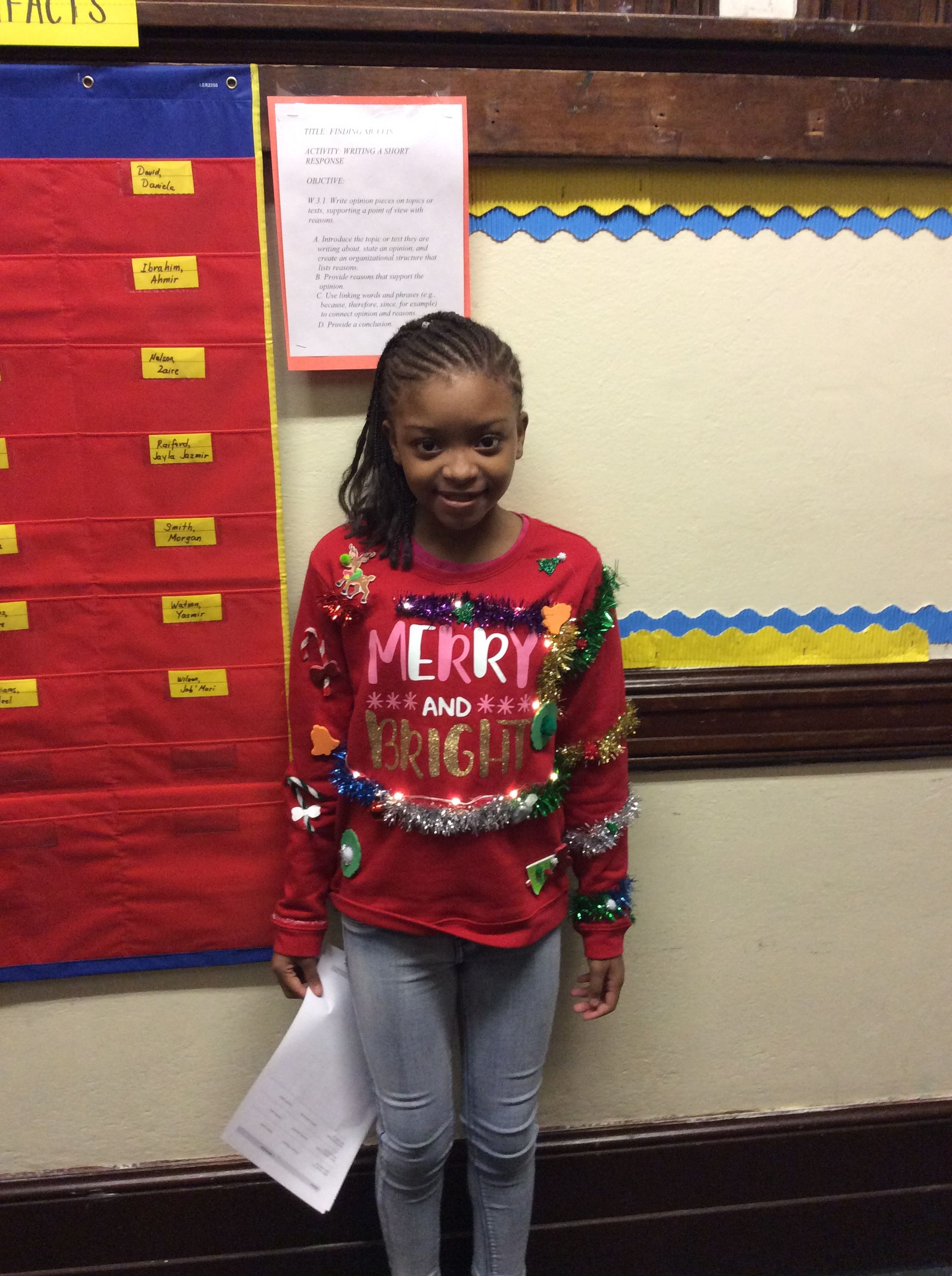 Ugly Red Sweater Day