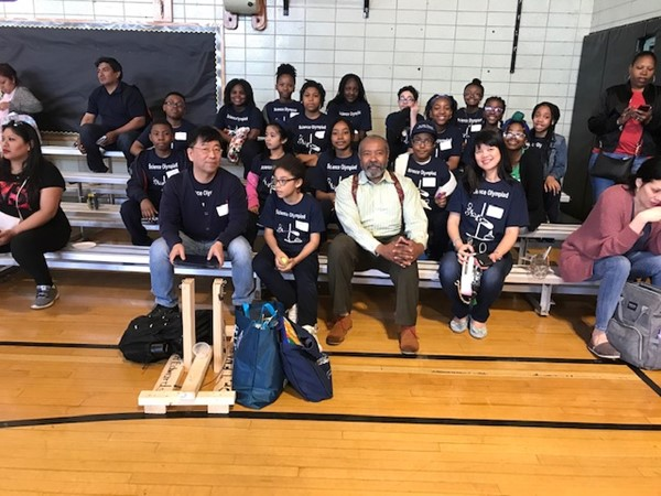 DLEACS Students at the NJ Science Olympiad