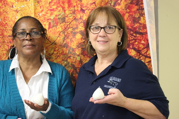 Ms. G. and Ms. Trent feature Onigiri in recognition of World Hunger